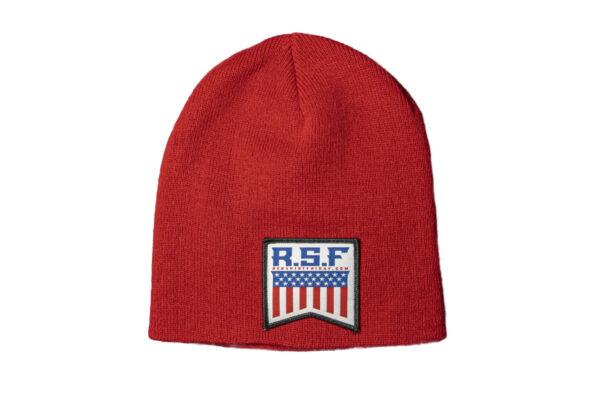 Headwear - Red Beanie